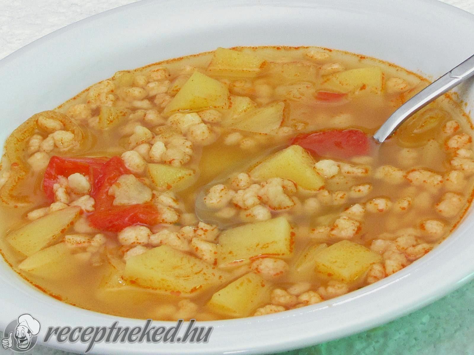 Tarhonyaleves recept Hajdu Istvan konyhájából - Receptneked.hu