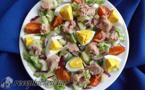 Tonhalas vitaminsaláta tojással