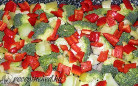 Csőben sült halfilé brokkolival