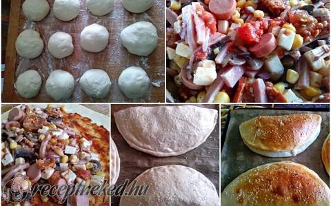 Pizza szendvics