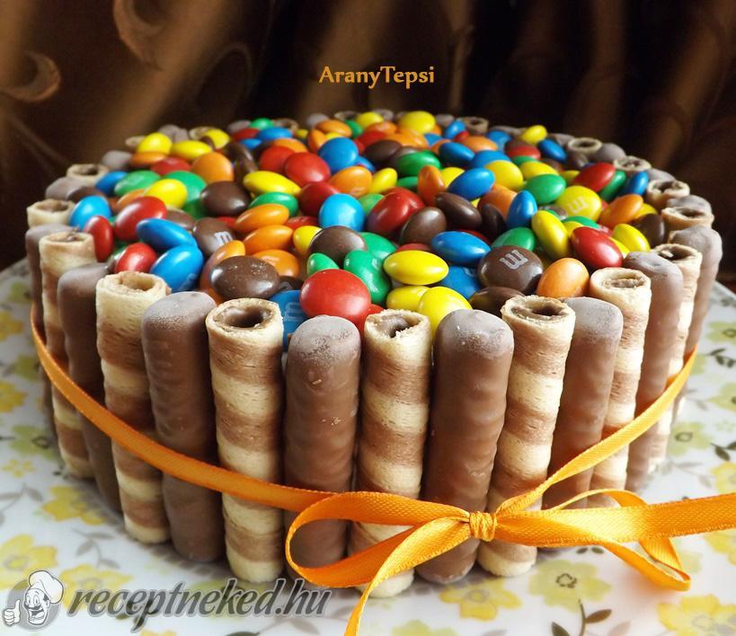 szülinapi csokitorta receptek Cukorkás torta szülinapra recept aranytepsi konyhájából  szülinapi csokitorta receptek