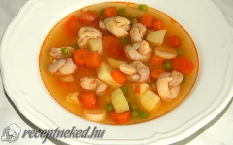 Kötött tészta leves