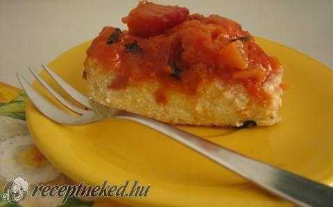 Mentás-nektarinos ricotta torta