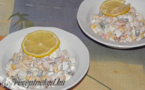 Koktélrák saláta