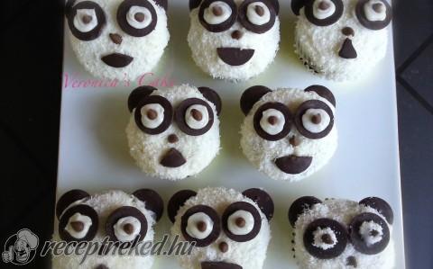 Panda muffin