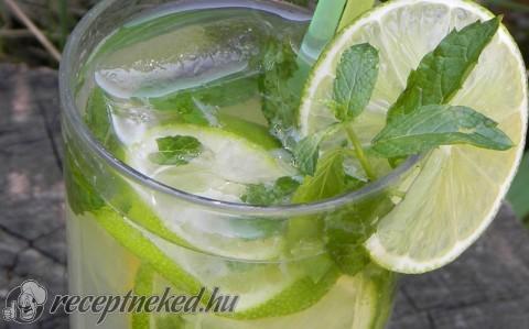Frissítő limonádé mentával