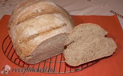 Rozslisztes diétás kenyér