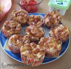 Bundáskenyér muffin
