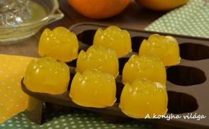 Narancsos zselé – gumicukor