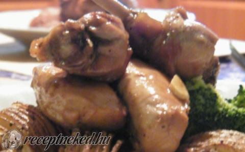 Pirított nyúl parázsburgonyával és roppanós brokkolirózsákkal