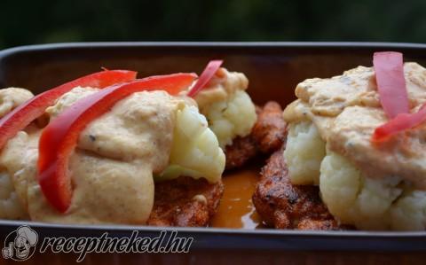 Dubarry szerű csirkemell