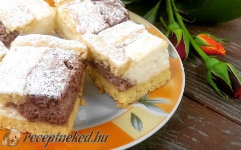Csokis-vaníliás pite