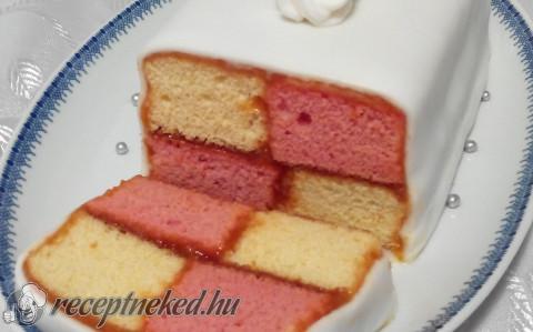 Battenberg sütemény gluténmentesen