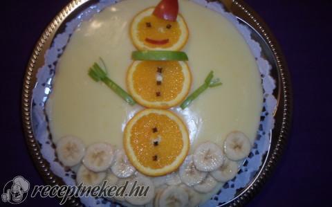 Narancsos dióguba torta