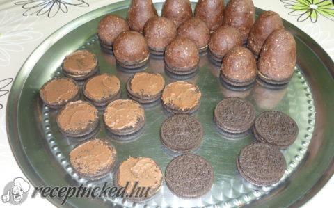Oreo kekszes csokis csúcsok