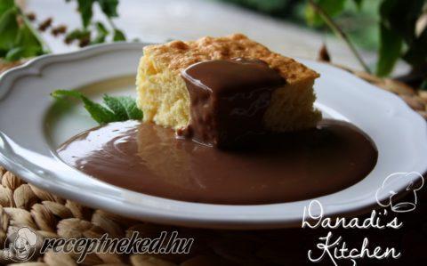 Retro piskóta csokiöntettel