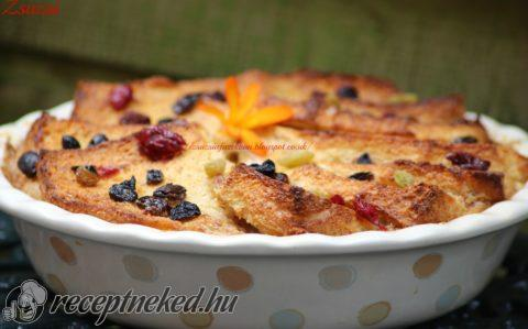 Mary Berry bread and butter pudding-ja