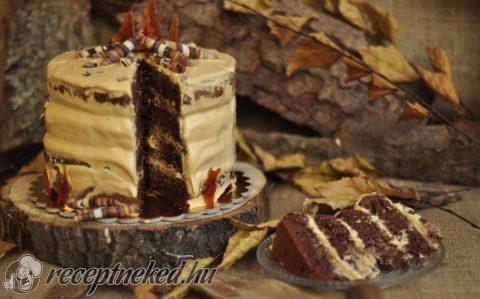 Tábortűz torta