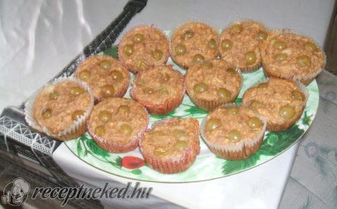 Ősz ízei muffin