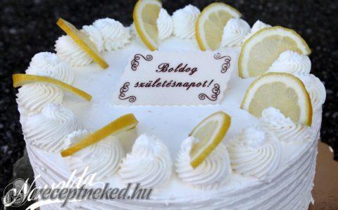 citromtorta képek Citromtorta recept konyhájából   Receptneked.hu citromtorta képek