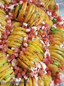 Fűszeres baconos sült burgonya