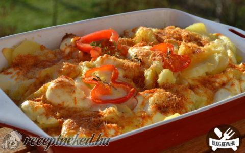 Ínyenc tepsis krumpli