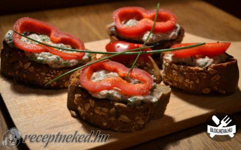 Zöldfűszeres tonhalkrém