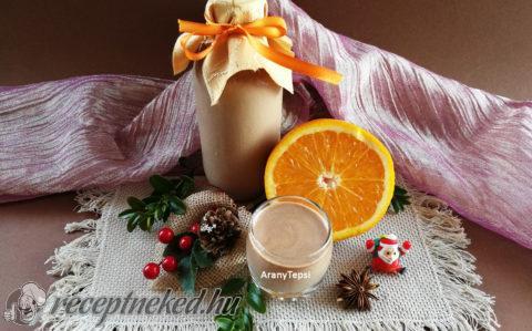 Narancsos csokoládé likőr