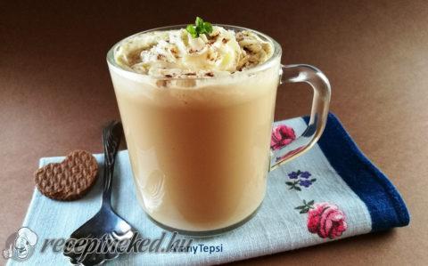 Kávés karamellás tej