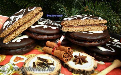Karácsonyi mézes süti