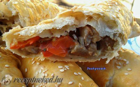 Ropogós rudacskák (maradék sült húsból)