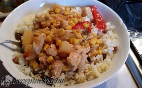 Szecsuáni édes savanyú csirke