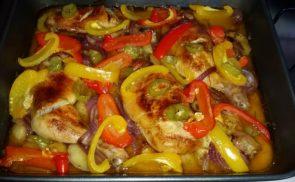 Színes csirke