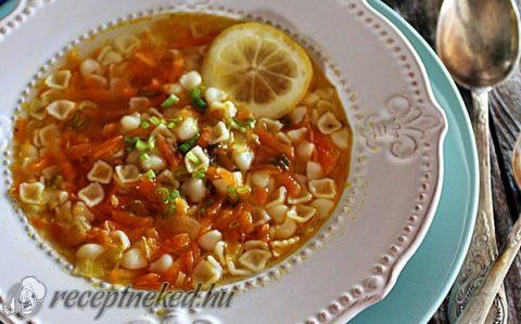 Kertész leves citrommal