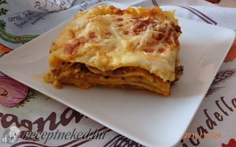 Gombás lasagne
