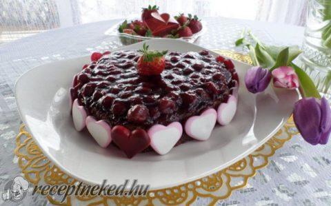 Valentin napi torta