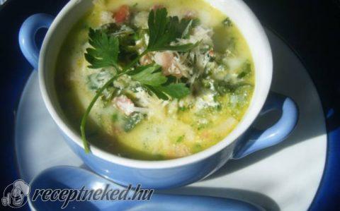 Hagymalevél leves