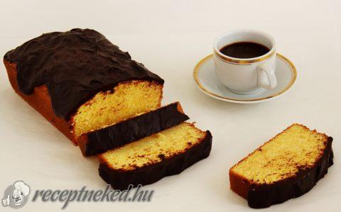 Kevert sütemény csokoládémázzal