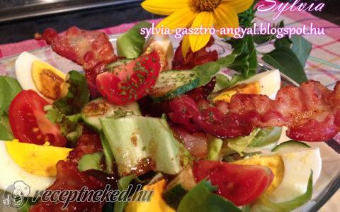 Baconös saláta, avagy férfiak kedvenc salátája