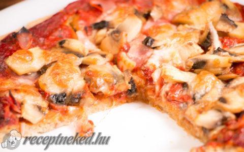 Diétás pizzatészta