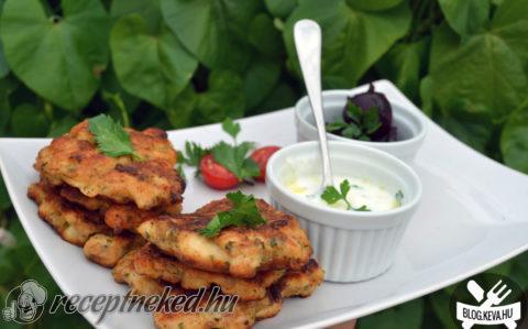 Zöldfűszeres csirketócsni