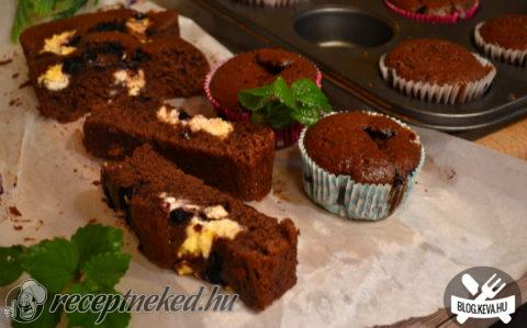 Bögrés muffin