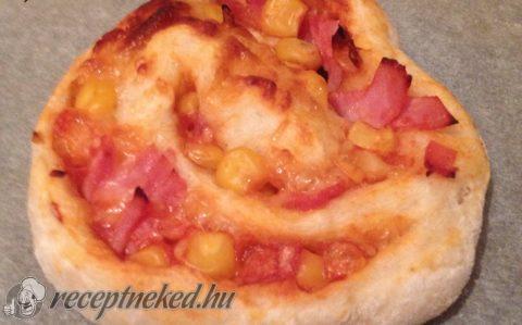 Gyors pizzás csiga