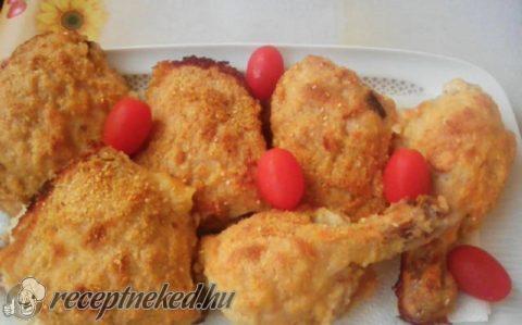 Szezámmagos csirkecombok