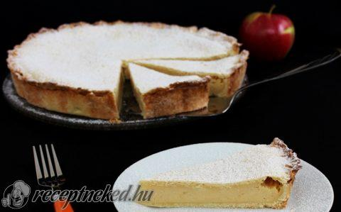 Almás-krémsajtos pite