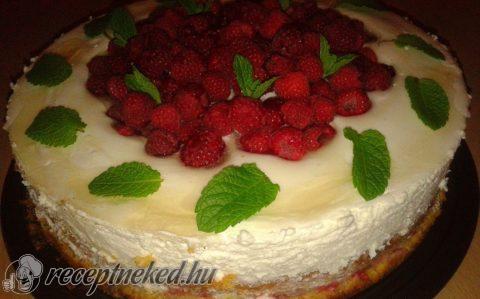 Tejfölkrémes torta