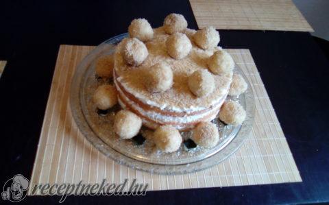 Túrógombóc torta
