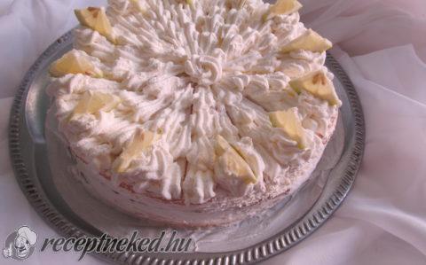 Citromkrém torta