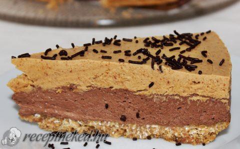 Csokoládés-mogyoróvajas torta