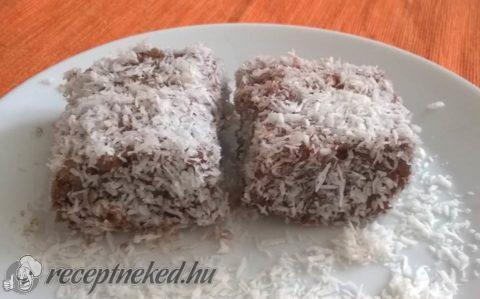 Vegán kókuszkocka